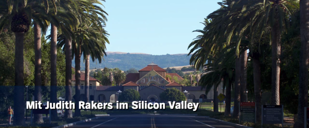 """NDR: """"Judith Rakers im Silicon Valley"""""""